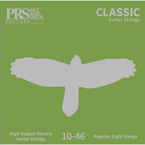 PRS Classic Electric Guitar Strings, Light (.010-.046)