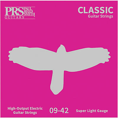 PRS Classic Electric Guitar Strings, Ultra Light (.009-.042)