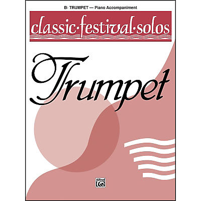Alfred Classic Festival Solos (B-Flat Trumpet) Volume 1 Piano Acc.