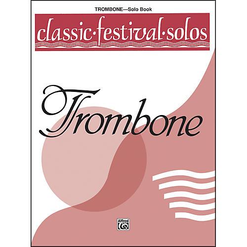Alfred Classic Festival Solos (Trombone) Volume 1 Solo Book