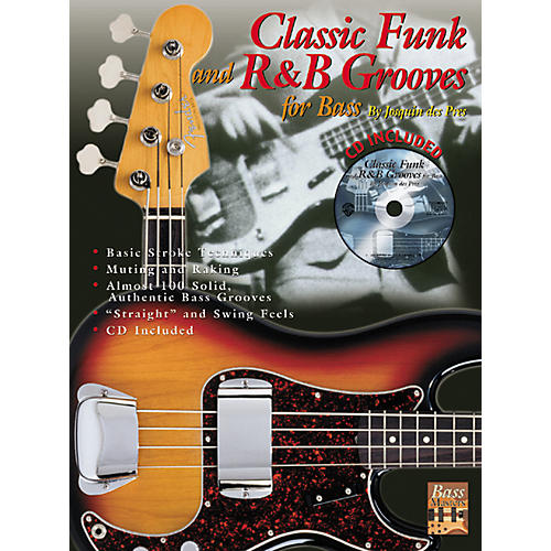 Alfred Classic Funk Grooves for Bass (Book/CD)