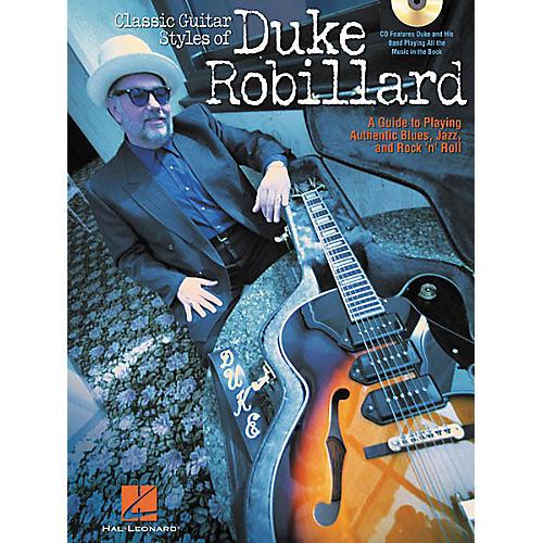Hal Leonard Classic Guitar Styles of Duke Robillard (Book/CD)