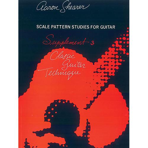 Alfred Classic Guitar Technique Supplement 3 Book