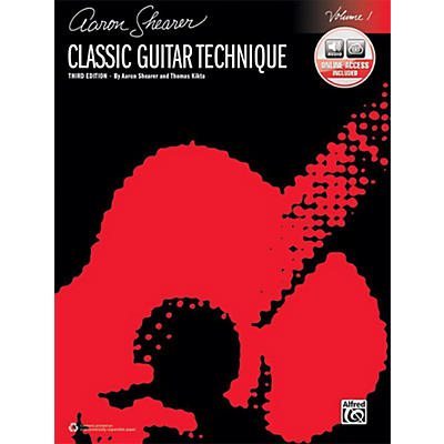 Alfred Classic Guitar Technique, Volume 1 (Third Edition) - Book & Online Audio
