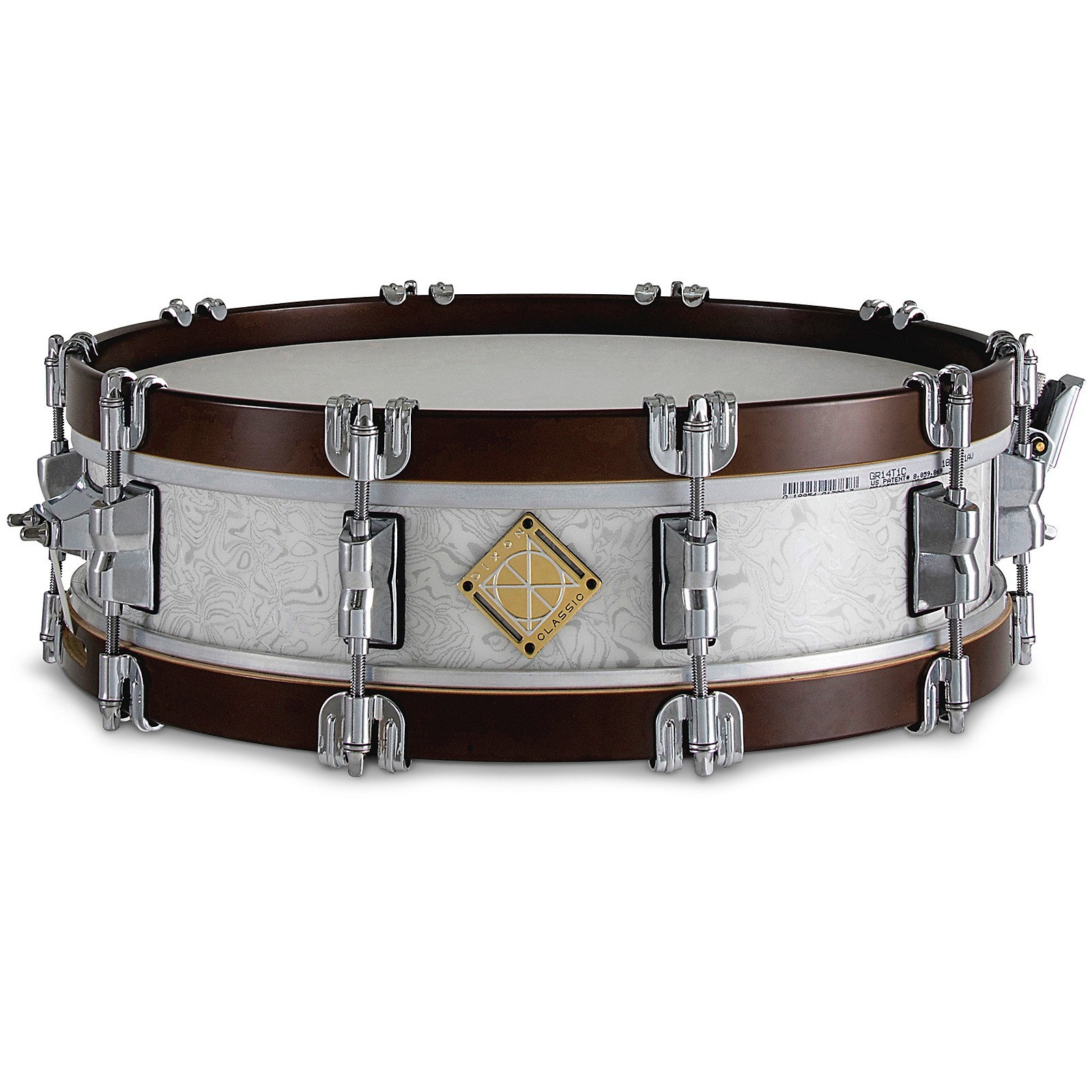 Dixon Classic Hybrid Maple Wood Hoop Snare Drum