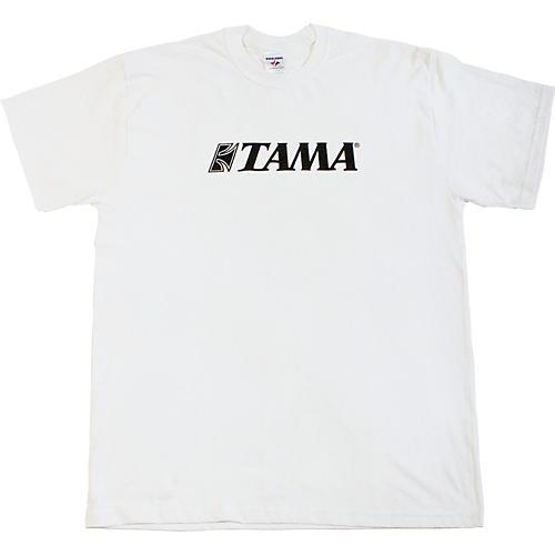 TAMA Classic Logo T-Shirt White Large