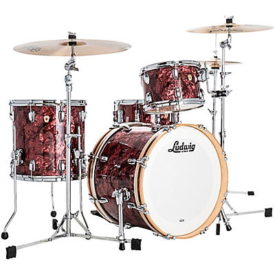 Ludwig Classic Maple 3 Piece Downbeat Shell Pack with 20 in. Bass Drum