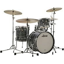 Classic Maple 3-Piece Downbeat Shell Pack with 20 in. Bass Drum Vintage Black Oyster Pearl