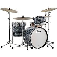Classic Maple 3-Piece Fab Shell Pack with 22 in. Bass Drum Blue Strata