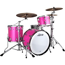 Classic Maple 3-Piece Fab Shell Pack with 22 in. Bass Drum Pink Sparkle