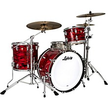 Classic Maple 3-Piece Fab Shell Pack with 22 in. Bass Drum Red Swirl