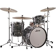 Classic Maple 3-Piece Fab Shell Pack with 22 in. Bass Drum Vintage Black Oyster Pearl