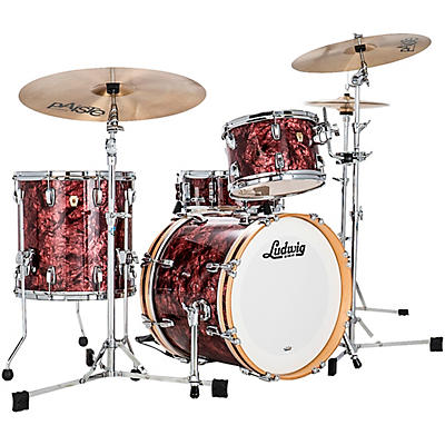 Ludwig Classic Maple 3 Piece Jazzette Shell Pack with 18 in. Bass Drum