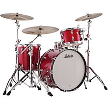 Classic Maple 3-Piece Pro Beat Shell Pack with 24 in. Bass Drum Red Sparkle