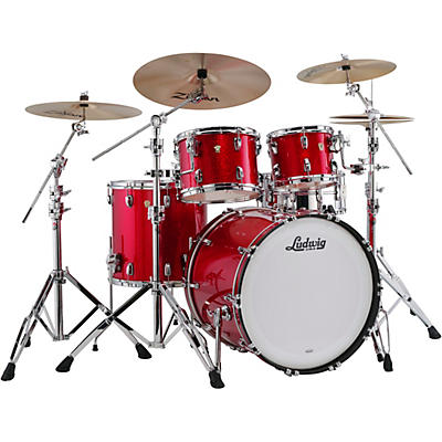 """Ludwig Classic Maple 4-Piece Mod Shell Pack with 22"""" Bass Drum"""