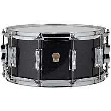 Classic Maple Snare Drum 14 x 6.5 in. Black Sparkle