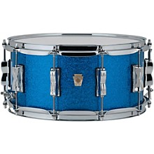 Classic Maple Snare Drum 14 x 6.5 in. Blue Sparkle
