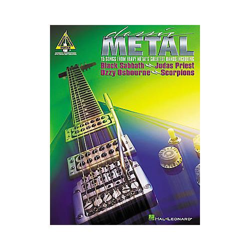 Hal Leonard Classic Metal Guitar Tab Book