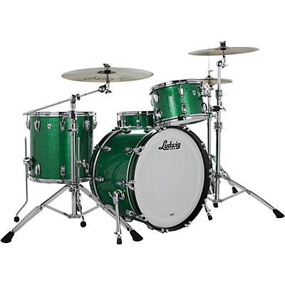 Ludwig Classic Oak 3-Piece Fab Shell Pack with 22 in. Bass Drum