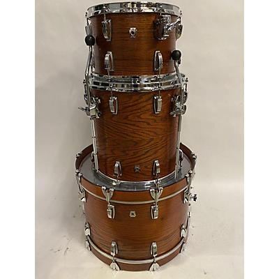 Ludwig Classic Oak Fab Shell 3 Piece Drum Kit