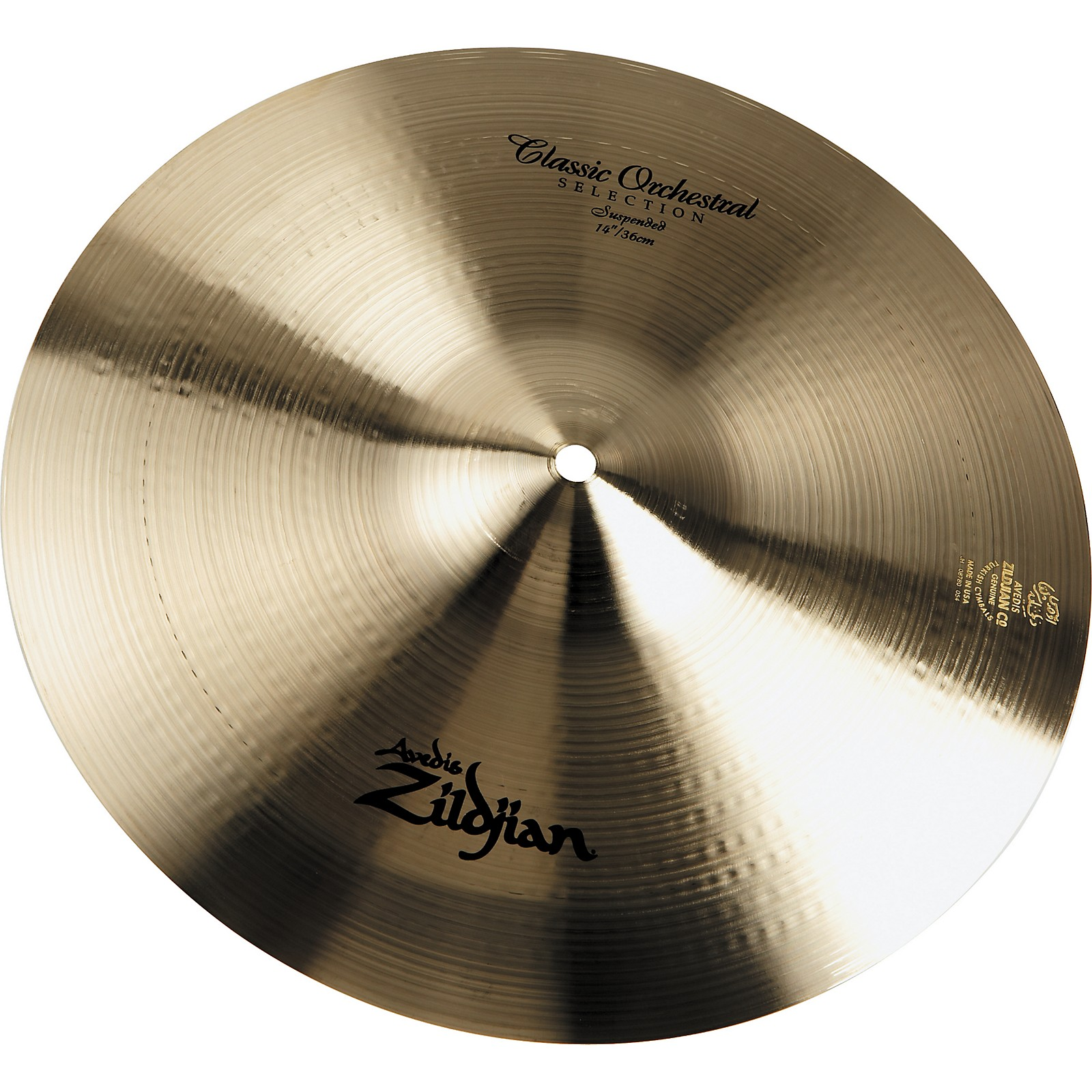 Zildjian Classic Orchestral Selection Suspended Thin