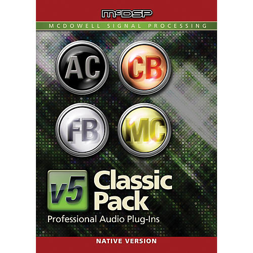 McDSP Classic Pack Native v6 (Software Download)