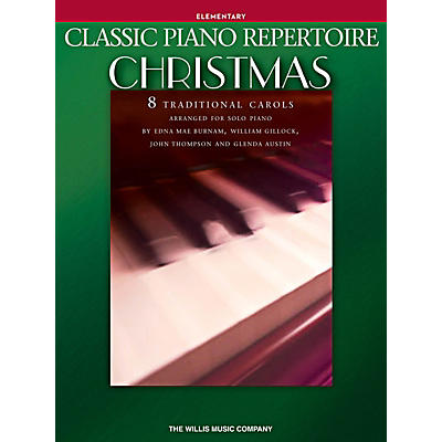 Willis Music Classic Piano Repertoire: Christmas Elementary Level Piano Songbook