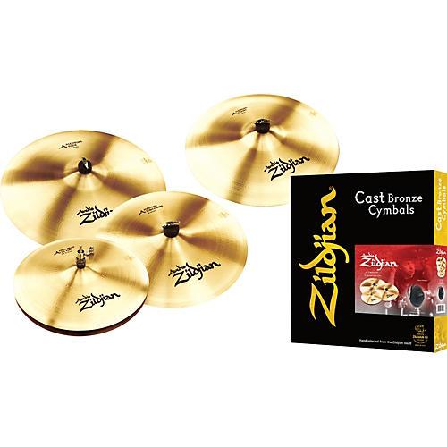 Zildjian Classic Pro Cymbal Pack with Free 18 in Crash