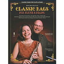 Music Minus One Classic Rags for Flute and Piano (Music Minus One Flute) Music Minus One Series Softcover with CD