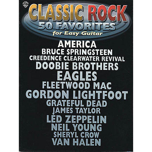 Hal Leonard Classic Rock - 50 Favorites for Easy Guitar Easy Guitar Series Softcover Performed by Various