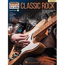 Hal Leonard Classic Rock - Deluxe Guitar Play-Along Volume 7 Book/Audio Online