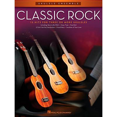 Hal Leonard Classic Rock - Ukulele Ensemble Series Mid-Intermediate Level Songbook
