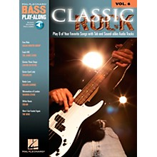 Hal Leonard Classic Rock Bass Guitar Play-Along Series Volume 6 Tab (Songbook/Online Audio)
