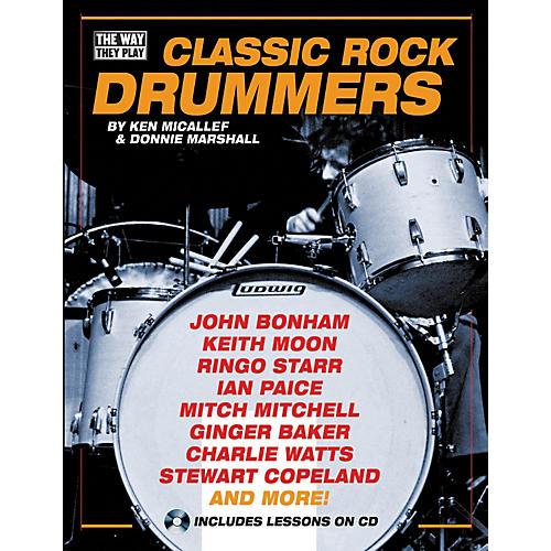 Hal Leonard Classic Rock Drummers (Book/CD)
