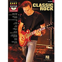 Hal Leonard Classic Rock: Easy Rhythm Guitar Series, Volume 2 (Book/CD)
