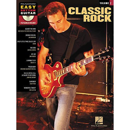 hal leonard classic rock easy rhythm guitar series volume 2 book cd musician 39 s friend. Black Bedroom Furniture Sets. Home Design Ideas