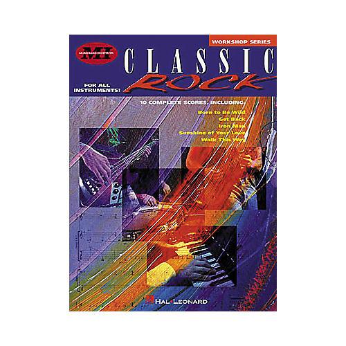 Musicians Institute Classic Rock Guitar Instruction Book
