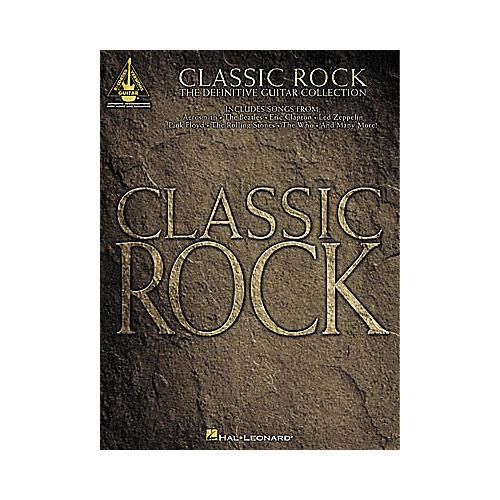 Hal Leonard Classic Rock Guitar Tab Book