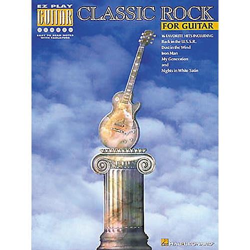 Hal Leonard Classic Rock Guitar Tab Songbook