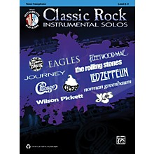 Alfred Classic Rock Instrumental Solos Tenor Sax Book & CD