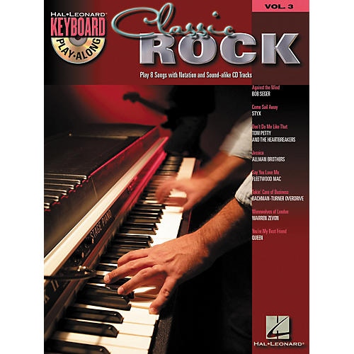 Hal Leonard Classic Rock: Keyboard Play-Along Series, Volume 3 (Book/CD)