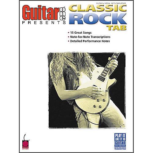 Cherry Lane Classic Rock Tab Book