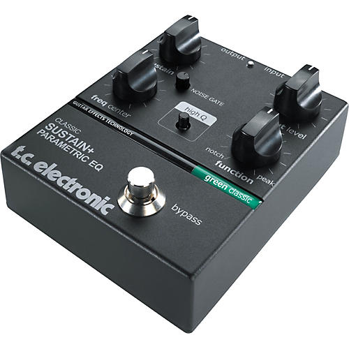 TC Electronic Classic Series Sustain + Parametric EQ Equalizer Pedal