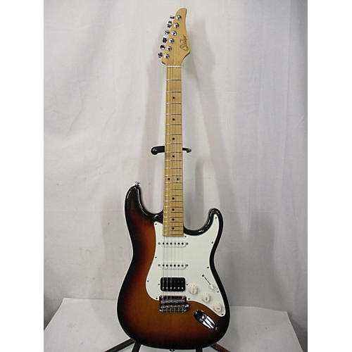 Suhr Classic Solid Body Electric Guitar Tobacco Sunburst