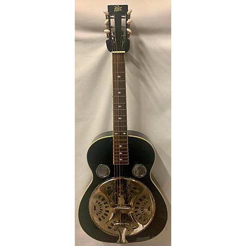 Rogue Classic Spider Resonator Guitar Black