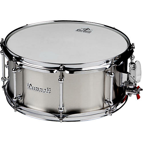 Dunnett Classic Stainless Steel Snare Drum