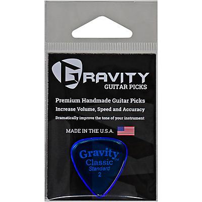 GRAVITY PICKS Classic Standard Polished Blue