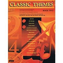 SCHAUM Classic Themes, Bk 2 Educational Piano Series Softcover