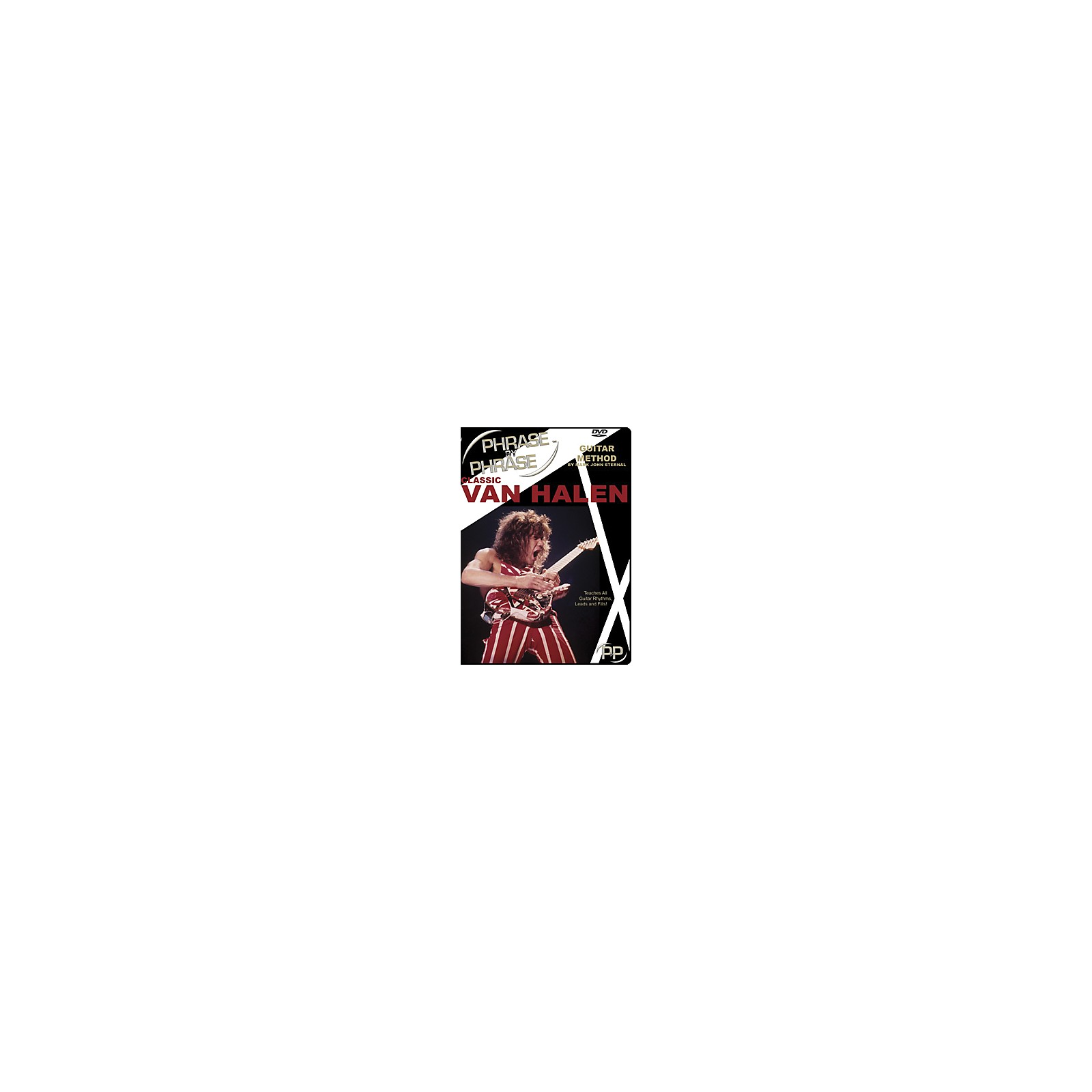 MJS Music Publications Classic Van Halen Phrase by Phrase Guitar Method (DVD)