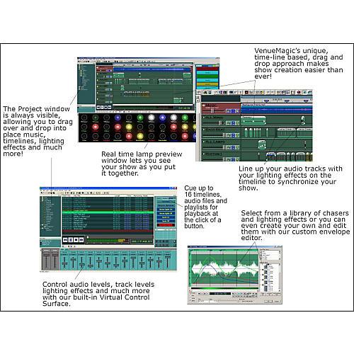 Venue Magic Classic Version w/ Control Box
